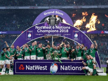 Irlanda celebra el Seis Naciones