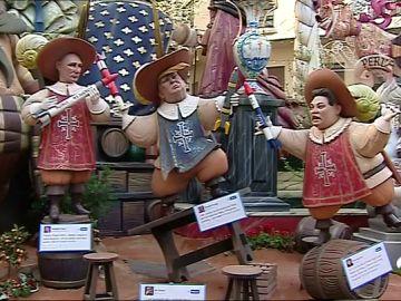 Más de un millón de personas viven este fin de semana los días grandes de las Fallas de Valencia