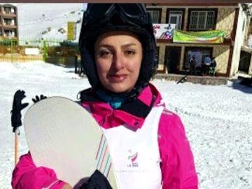 El ejemplo de superación de una snowboarder paralímpica iraní en PyeonChang 2018
