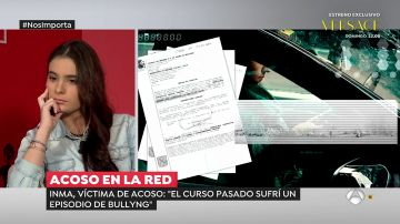 """Inma, una joven de 19 años víctima de acoso escolar: """"Han sido difundidas unas fotos mías en las que salgo con ropa interior"""""""