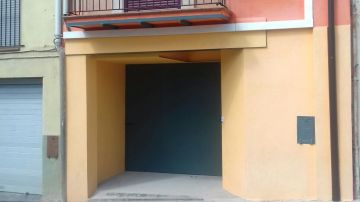 Casa del hombre que ha matado a su madre en Berga, en Barcelona
