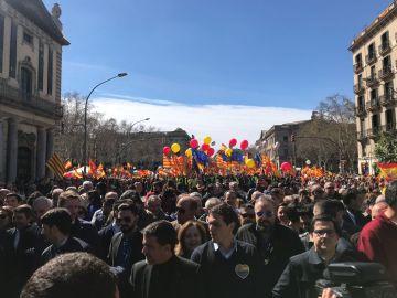 Manifestación Sociedad Civil Catalana