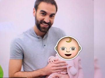Jon Plazaola celebra el día del padre con su hija en 'Allí Abajo'