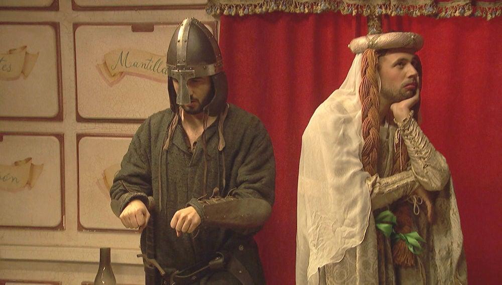 Hipólito y Onésimo interpretan una divertida obra de Patrocinio