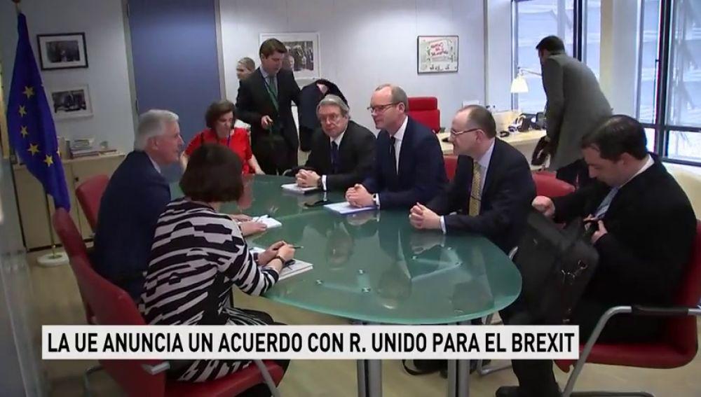 La Unión Europea y Reino Unido llegan a un acuerdo sobre el periodo de transición del 'brexit' y sobre la frontera irlandesa