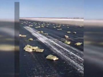Llueven lingotes de oro y plata por valor de 297 millones de euros en Rusia después de que un avión perdiera la carga