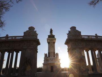 Mirador de Alfonso XII en el parque del Retiro