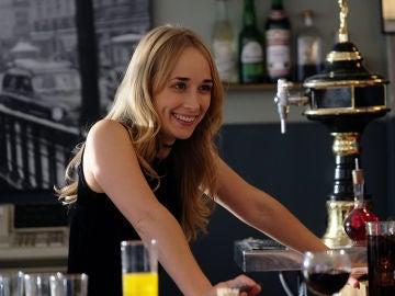 Sastre y Miranda, felices en la inauguración de su bar