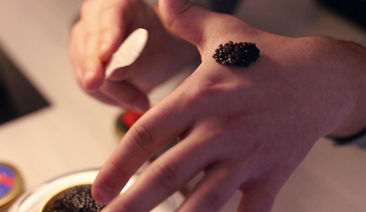 Cata de caviar