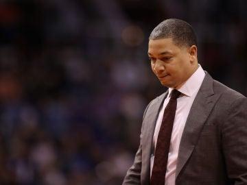 Tyronn Lue, entrenador de los Cleveland Cavaliers