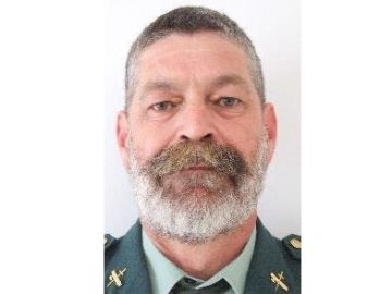 El Guardia Civil Diego Díaz