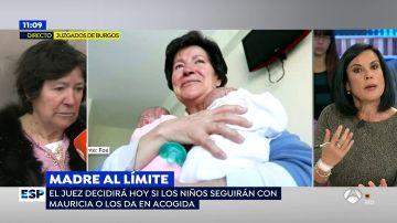 Mauricia Ibáñez en Espejo Público