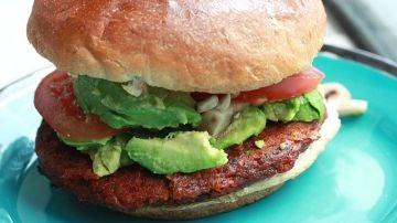 Las hamburguesas veganas, al alza.