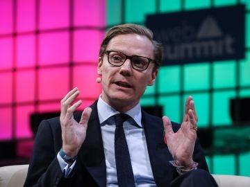 El presidente de Cambridge Analytica, Alexander Nix