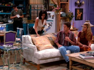 Monica, siempre anfitriona en 'Friends'