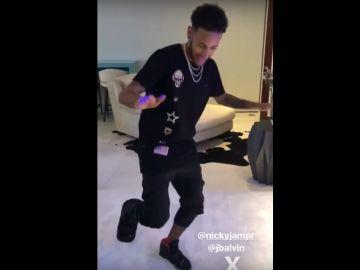 El polémico baile de Neymar