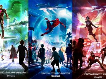 'Los Vengadores' llegan a Disney