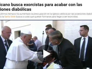 El vaticano busca exorcistas