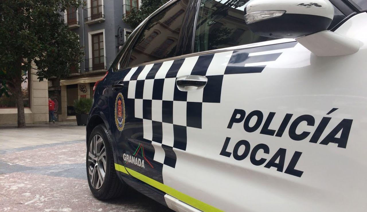 Imagen de archivo de la Policía Local de Granada