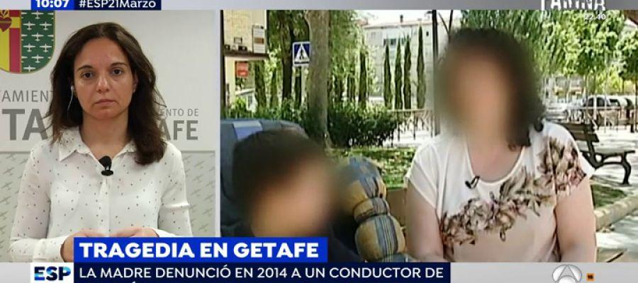 Antena 3 tv la madre de los ni os asesinados por su for Oficinas getafe cf