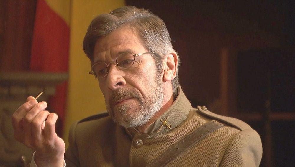 El General Perez Ayala recrea la futura muerte de Nicolás