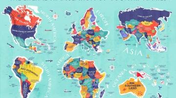 El significado de los nombres de los países