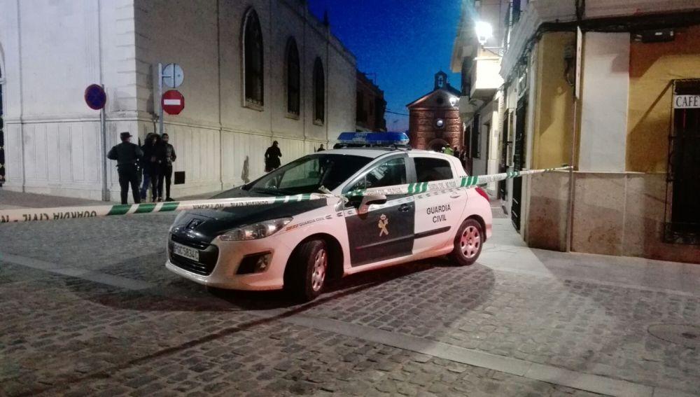 La Guardia Civil cortó la zona donde se produjeron los hechos