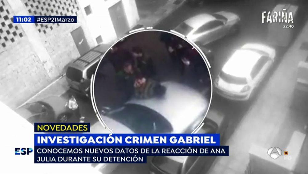Nuevas imágenes de la detención de Ana Julia Quezada: perdió los papeles al ser increpada por los vecinos