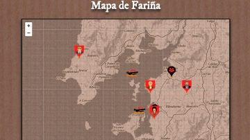 El mapa de Fariña