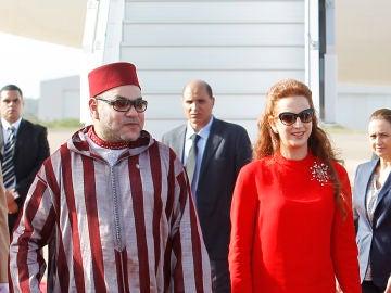 El rey Mohamed VI y Lalla Salma