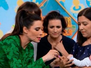 Pilar Rubio muestra en 'El Hormiguero 3.0' las innovadoras técnicas para facilitar la maternidad
