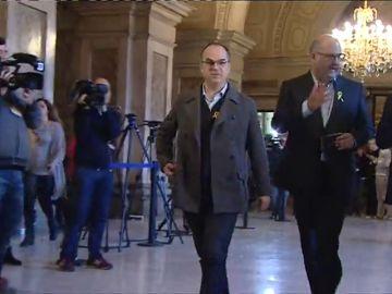 JxCat, ERC y la CUP negocian celebrar el jueves la investidura de Turull