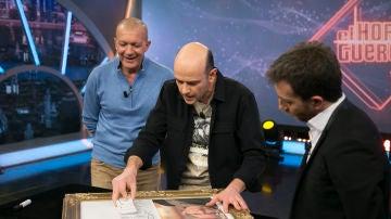 Jandro hace magia con Antonio Banderas para crear un homenaje a Pablo Picasso en 'El Hormiguero 3.0'