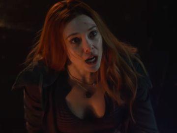 Elizabeth Olsen en 'Vengadores: Infinity War'