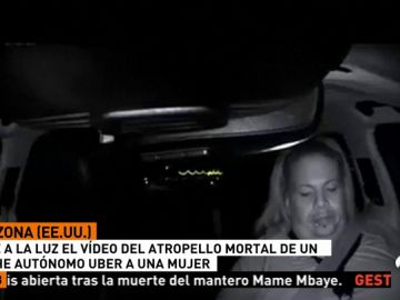 Sale a la luz el vídeo del atropello mortal de un coche de Uber
