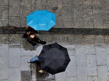 Nuevo temporal de lluvias en la Península