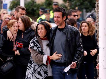 Ángel Cruz y Patricia Ramírez, padres de Gabriel Cruz