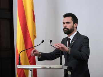 El president del Parlament Roger Torrent
