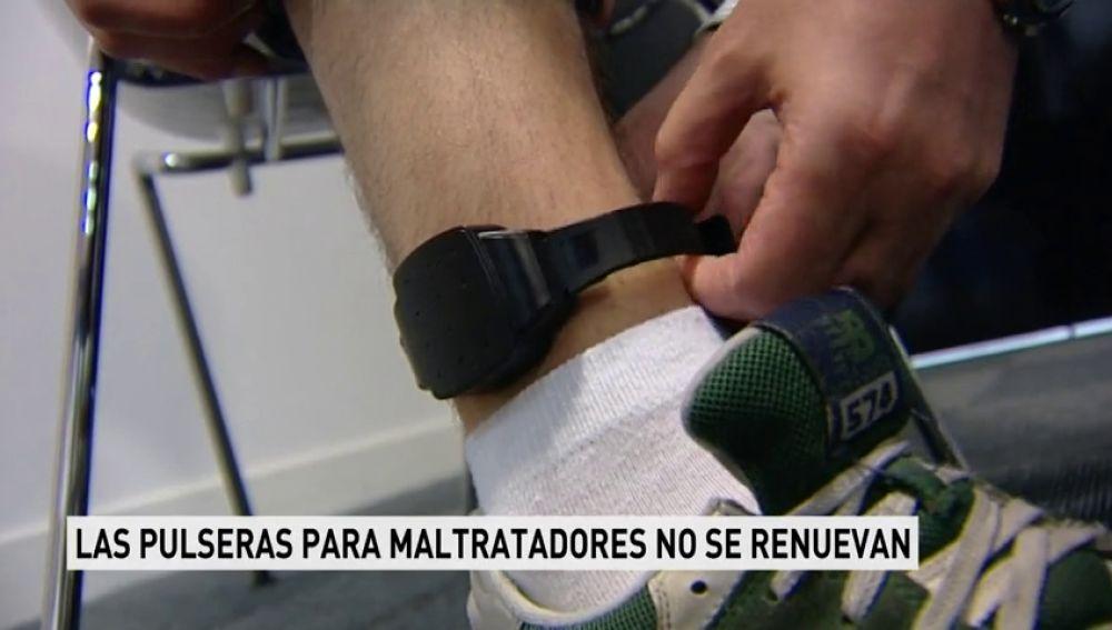 Las pulseras para maltratadores no se renuevan