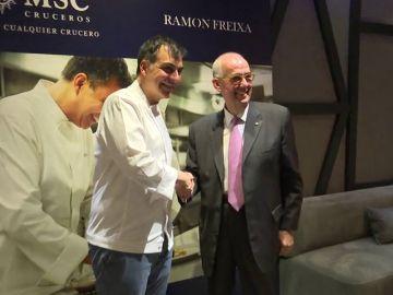 La alta gastronomía española se embarca en los cruceroS