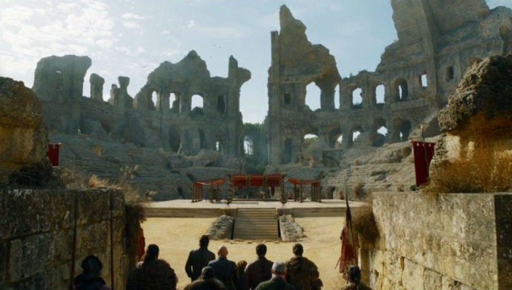 El anfiteatro de Itálica en 'Juego de Tronos'