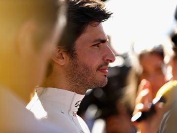 Carlos Sainz, en el GP de Australia