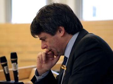 El expresidente catalán, Carles Puigdemont