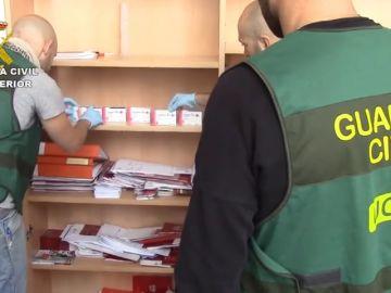 La Guardia Civil desmantela un laboratorio en Teruel que distribuía fármacos ilegales