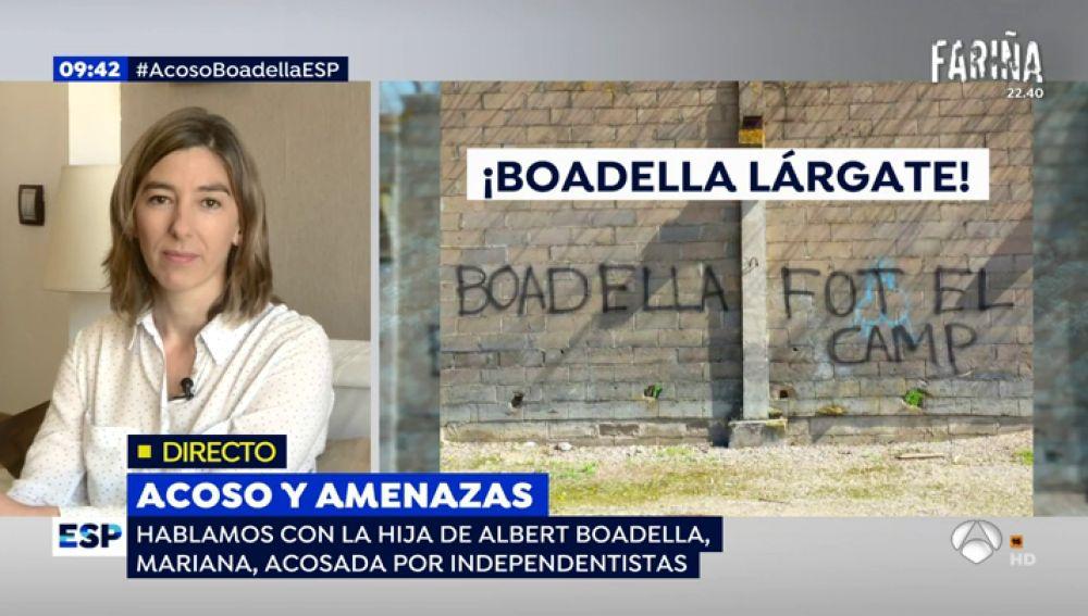Mariana Boadella en Espejo Público