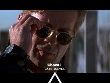 Antena 3 emite 'Chacal', protagonizada por Bruce Willis