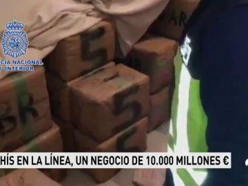 Hachís en la Línea, un negocio de 10.000 millones de euros