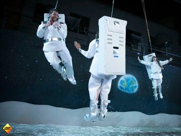 Aitana y Ana Guerra viajan a la Luna con Pablo Motos en 'El Hormiguero 3.0'