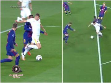 Las jugadas polémicas del Barça-Roma