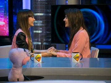Trancas y Barrancas descubren en 'El Hormiguero 3.0' el grado de compatibilidad de Aitana y Ana Guerra